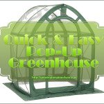 Flower House FHPH155CL PlantHouse 5 Pop Up Clear Greenhouse