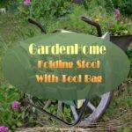 Gardenhome Folding Stool With Tool Bag